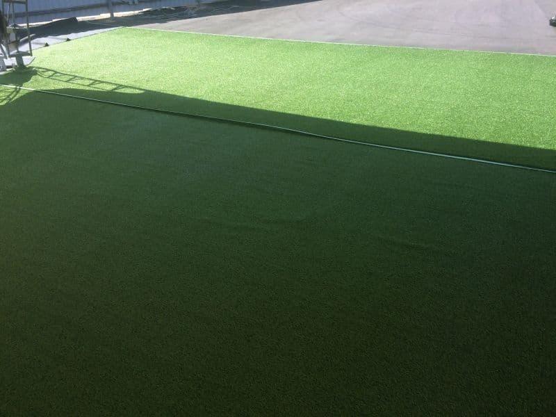 Фибриллированная спортивная искусственная трава