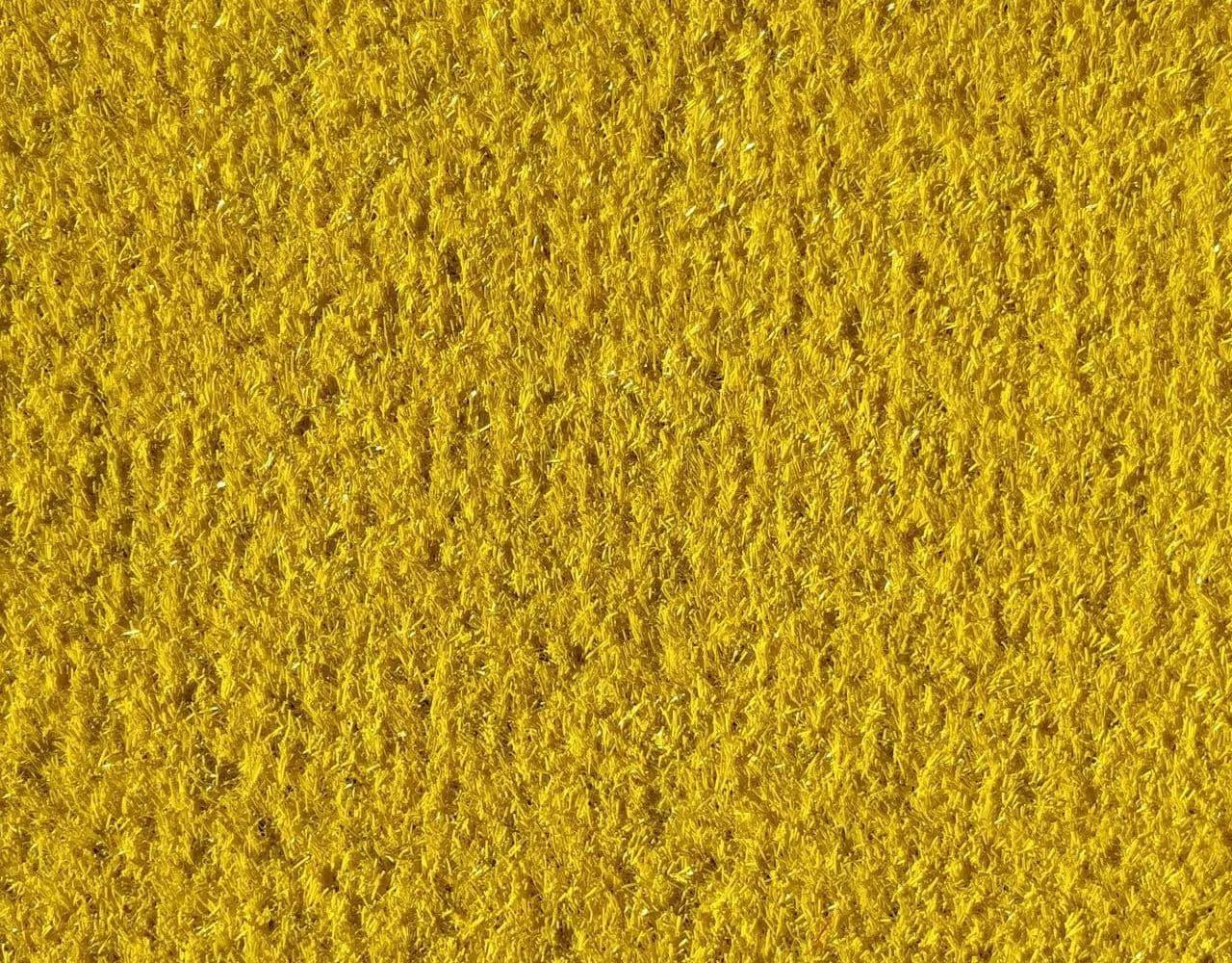 Желтая искусственная трава 20мм
